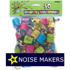 party poppers & Noise Makers